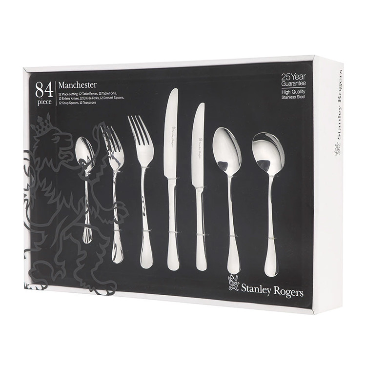 Stanley Rogers Manchester Cutlery Set 84pc