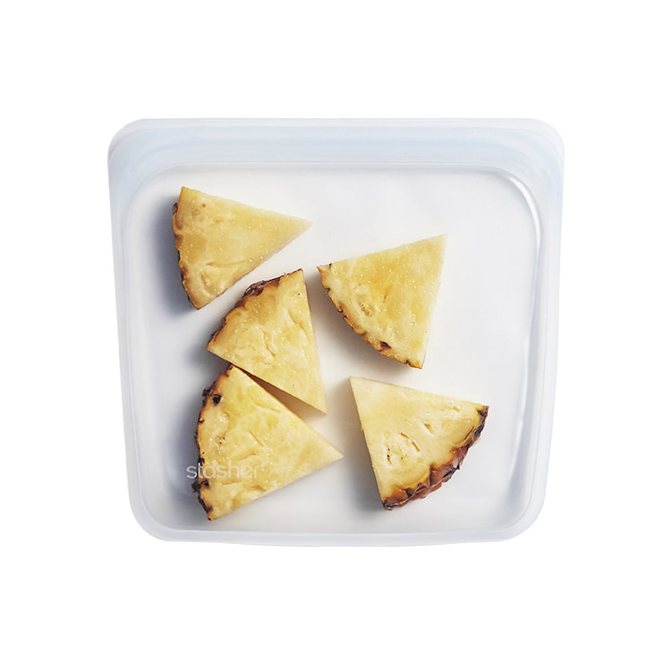 Stasher Reusable Sandwich Bag 19x19cm Clear image #2