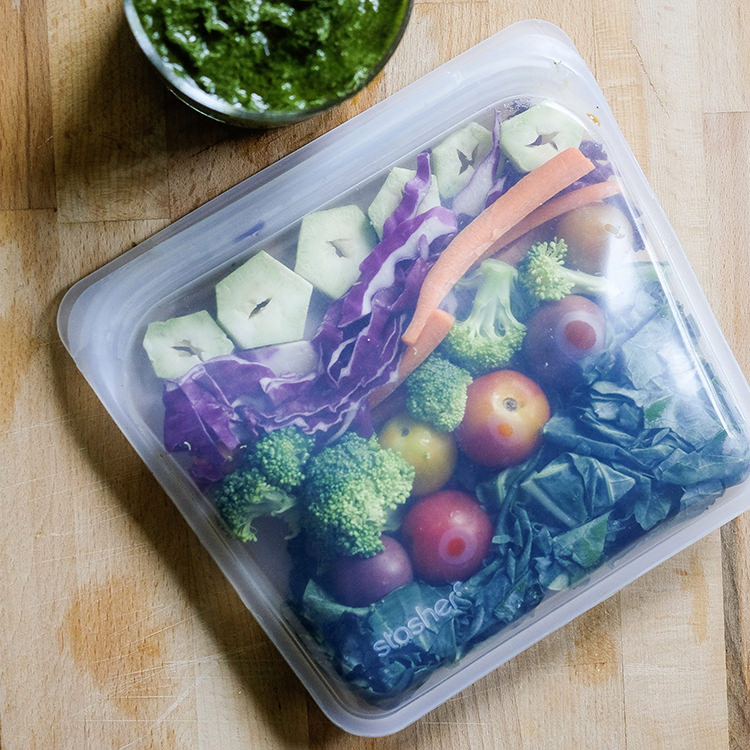 Stasher Reusable Sandwich Bag 19x19cm Clear image #5