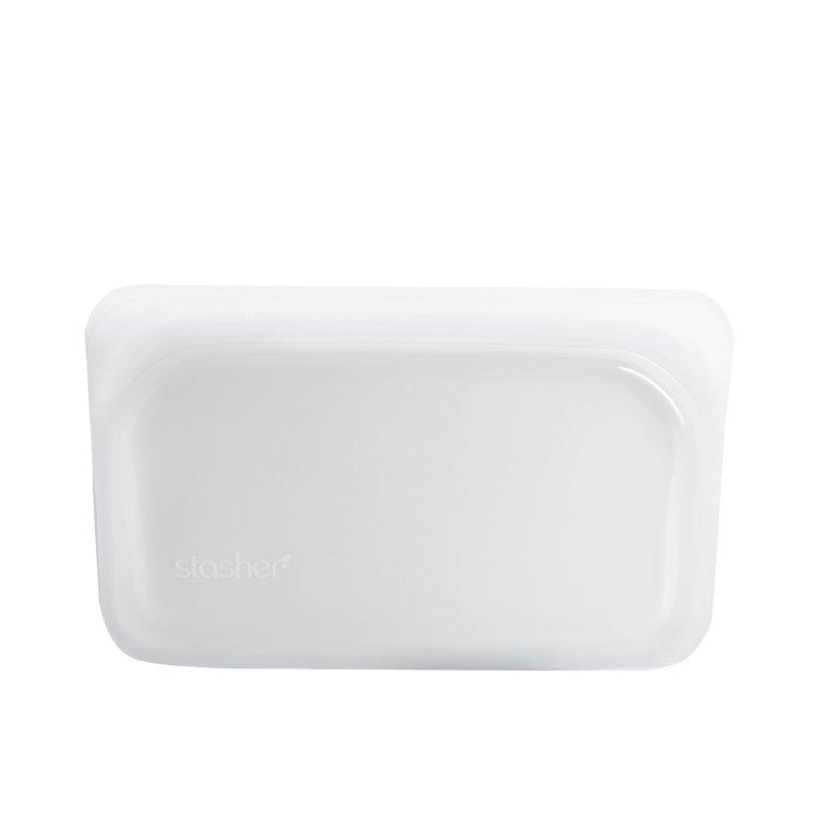 Stasher Reusable Snack Bag 11.5x19cm Clear
