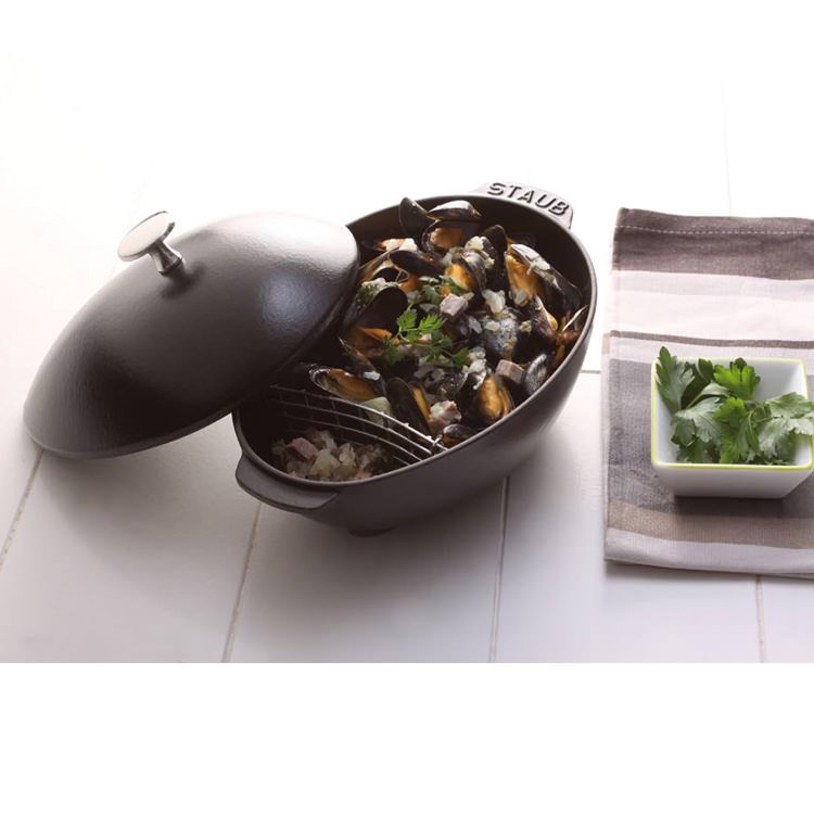 Staub Enamelled Cast Iron Family Mussel Pot