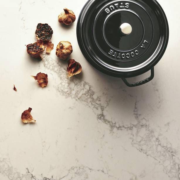 Staub Enamelled Cast Iron Round Cocotte 18cm Black