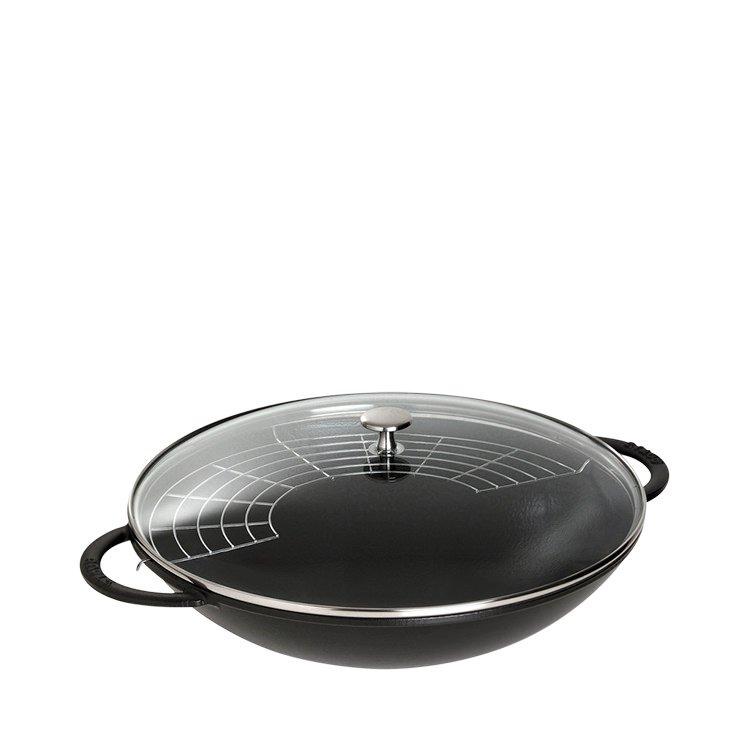 Staub Wok 37cm Black