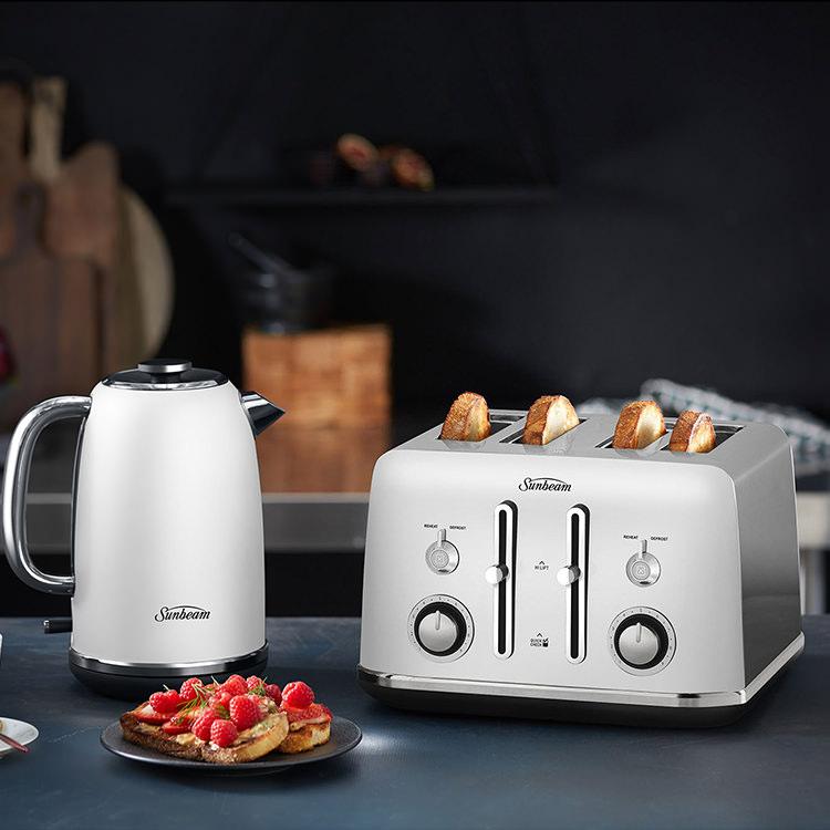 Sunbeam Alinea 4 Slice Toaster Ocean Mist