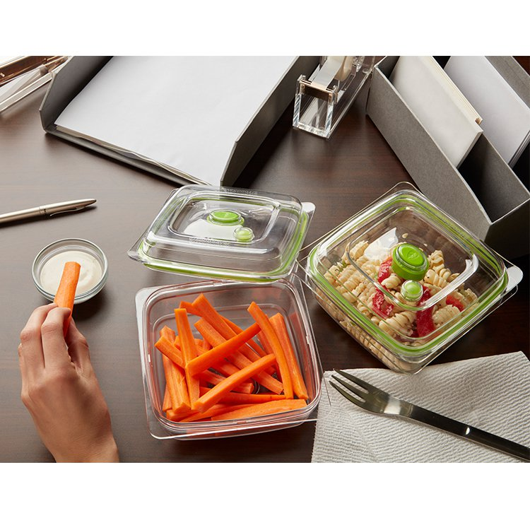 FoodSaver Container Set 3 & 5 Cup