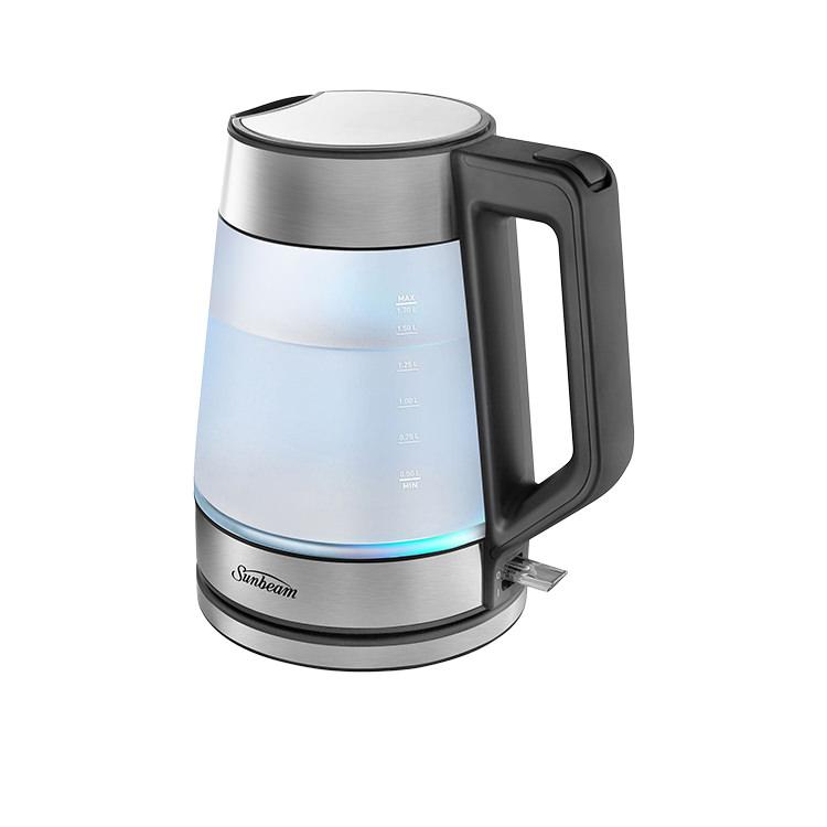 Sunbeam Morning Frost Glass Kettle