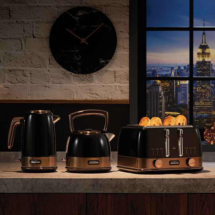 Sunbeam New York Collection Pot Kettle Black Bronze