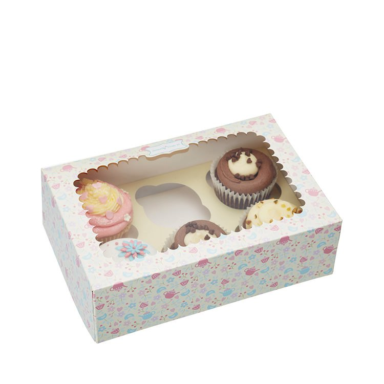 Sweetly Does It Cupcake Gift Box Set of 2