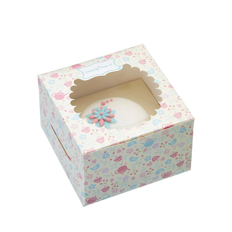 Sweetly Does It Cupcake Gift Box Set of 4