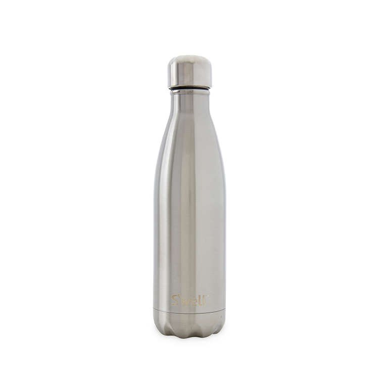 S Well Insulated S S Bottle 500ml Silver Lining Fast