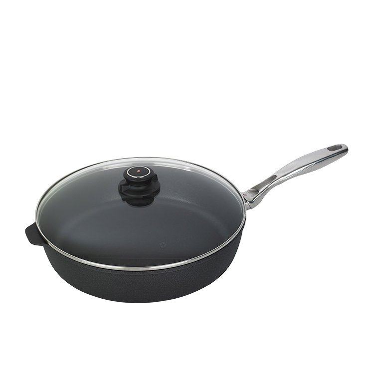 Swiss Diamond Classic XD Deep Saute Pan with Lid 32cm