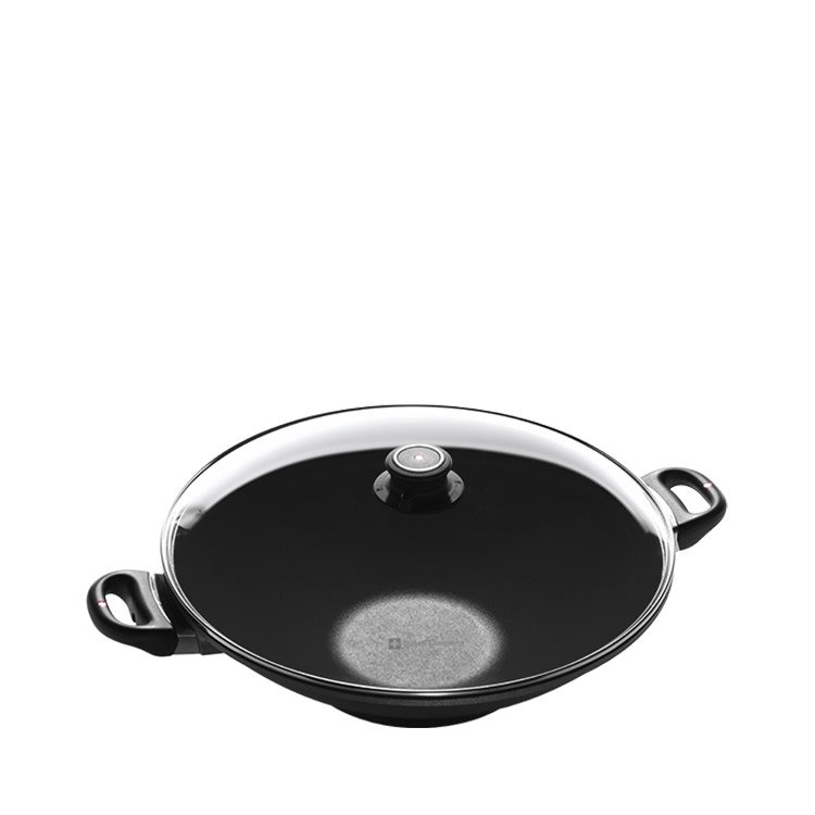 Swiss Diamond Wok w/ Rack & Lid 36cm