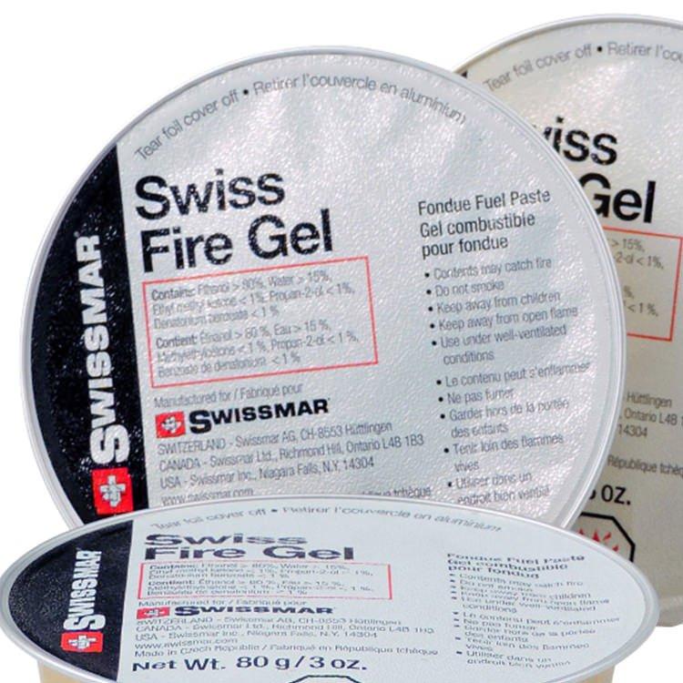 Swissmar Swiss Fire Gel 88ml Set of 3