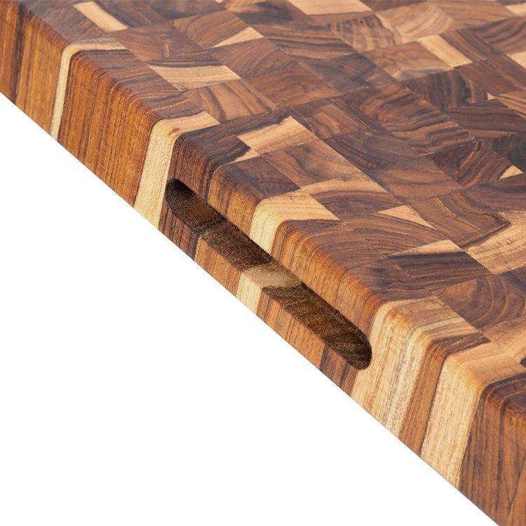 Teak Haus Edge End Grain 331 Cutting Board 51x38x4cm