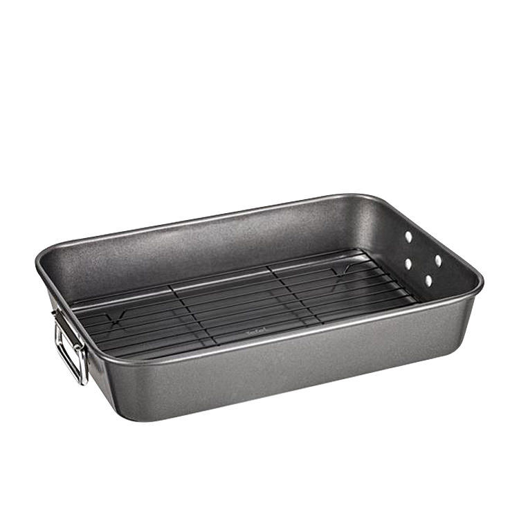 Tefal Non-Stick Roaster with Rack 40x28cm