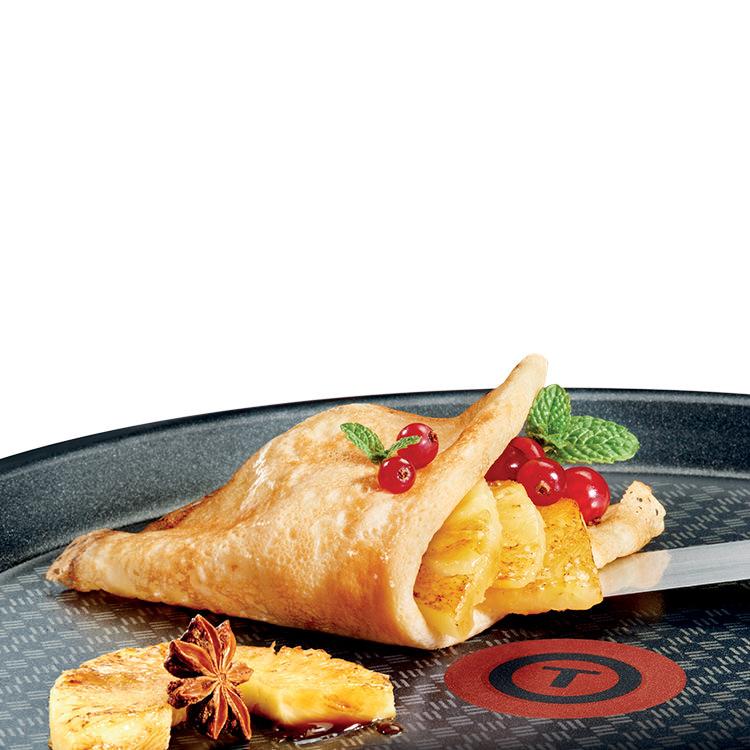 Tefal Character Crepe Pan Red 28cm