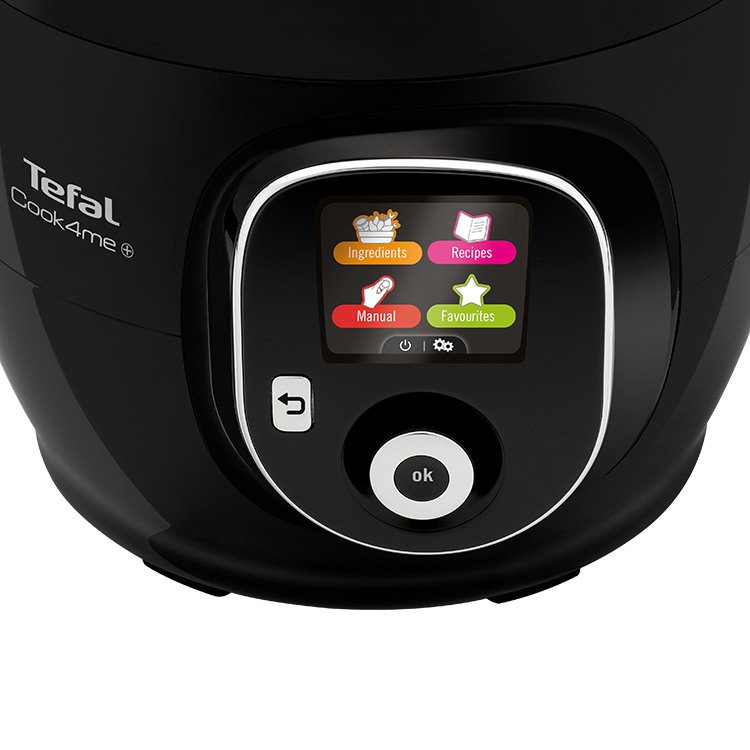 Tefal Cook4Me LCD control panel