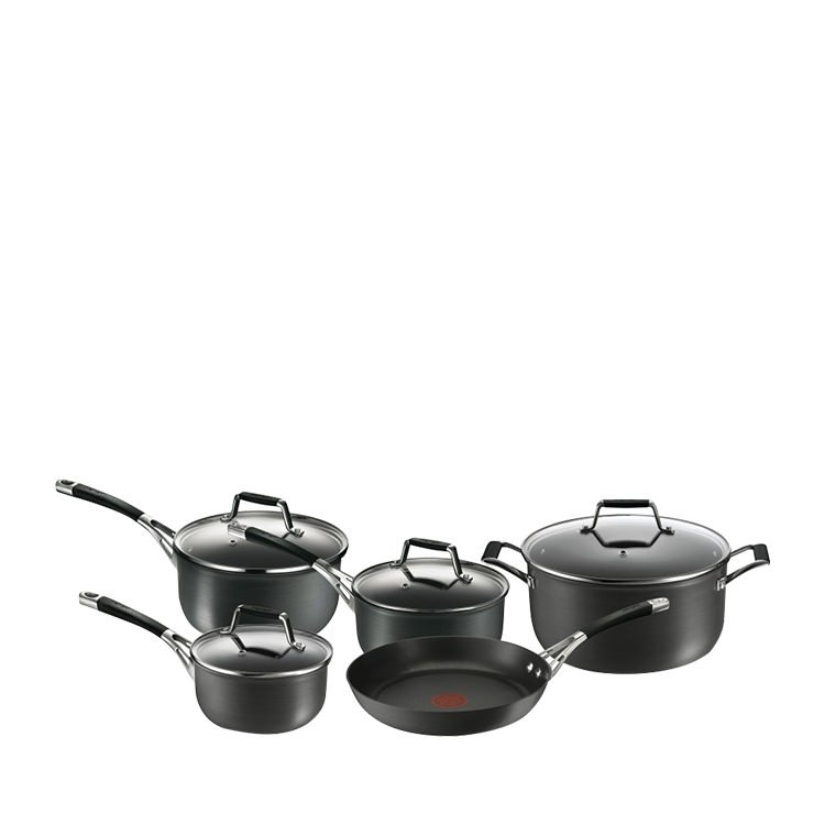 Tefal Excellence Hard Anodised 5pc Cookware Set