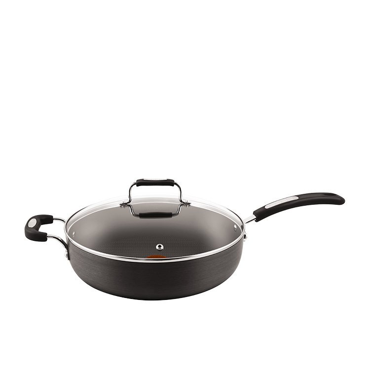 Tefal Hard Anodised Specialty Sautepan 30cm