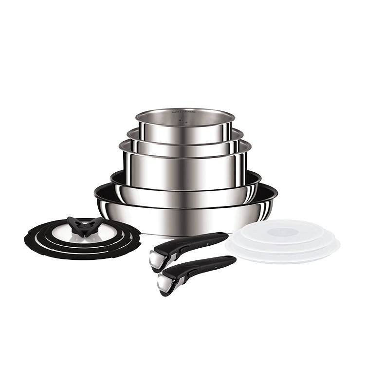 Tefal Ingenio 13pc Stainless Steel Set