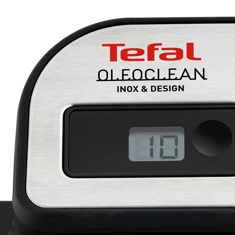 how to clean tefal deep fryer