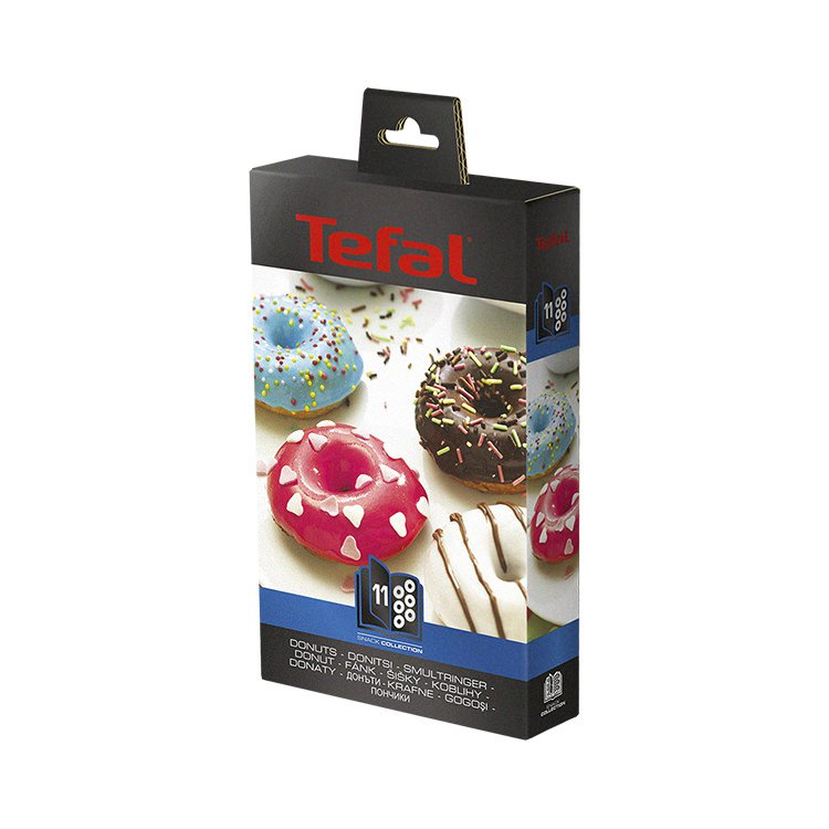 tefal snack collection accessory plates donuts fast shipping. Black Bedroom Furniture Sets. Home Design Ideas