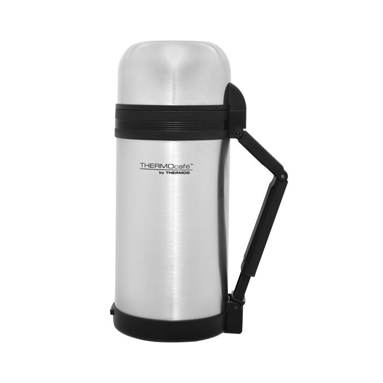 Thermos THERMOcafe Food and Drink Stainless Steel Vacuum Flask 1.2L