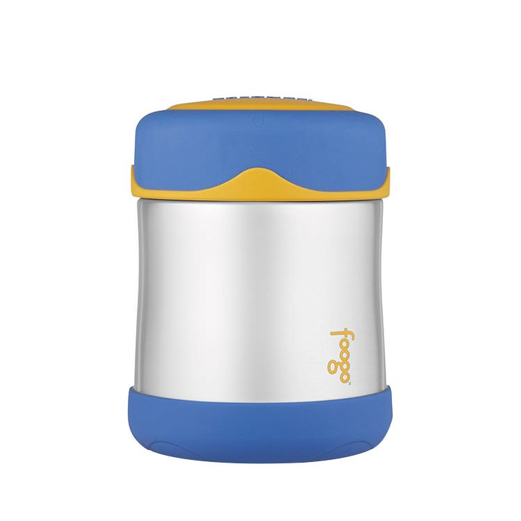 Thermos Foogo Stainless Steel Vacuum Insulated Food Jar 290ml Blue