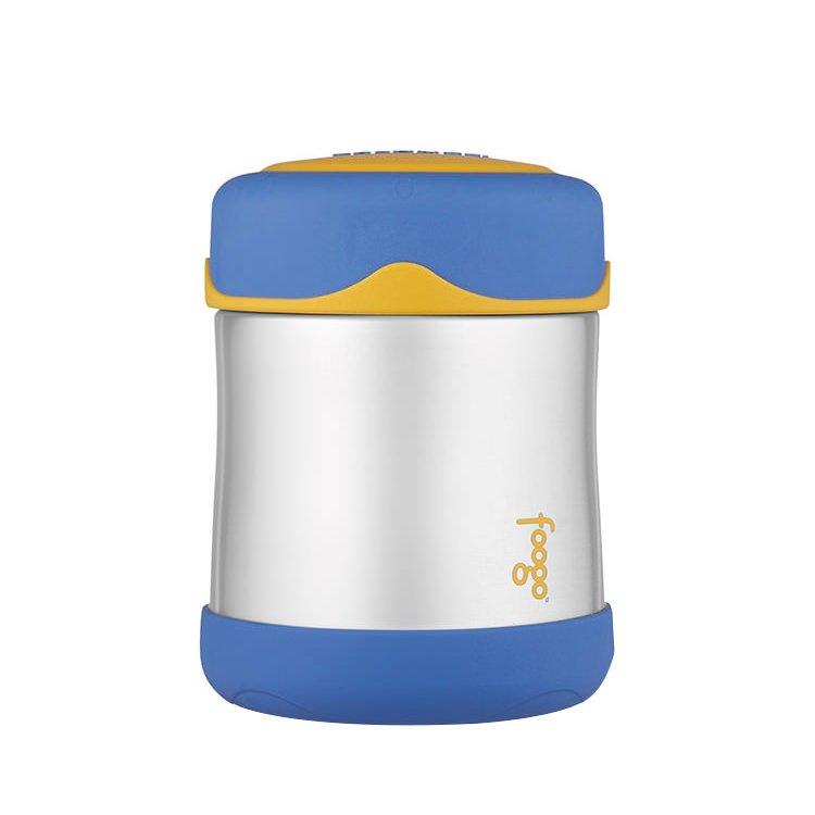 Thermos Foogo Stainless Steel Vacuum Insulated Food Jar 290ml Blue