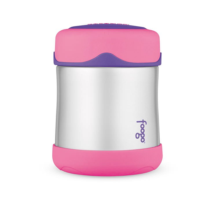Thermos Foogo Stainless Steel Vacuum Insulated Food Jar 290ml Pink