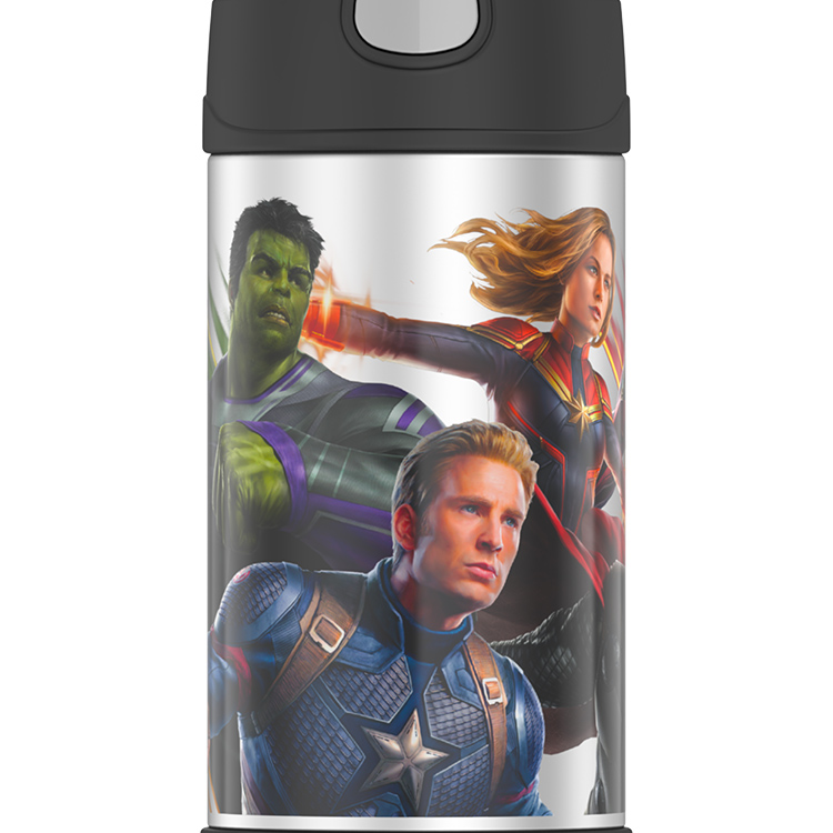 Thermos Funtainer Insulated Drink Bottle 355ml Marvel Avengers