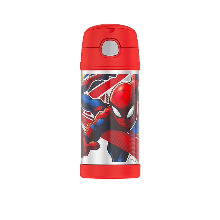 Thermos Funtainer Insulated Drink Bottle 355ml Spider Man