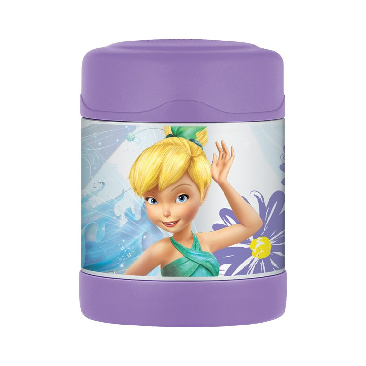 Thermos Funtainer Stainless Steel Vacuum Insulated Food Jar 290ml Disney Fairies