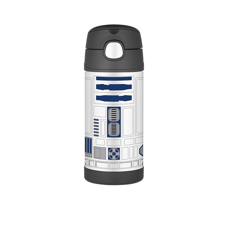 Thermos Funtainer Insulated Drink Bottle 355ml Star Wars R2D2
