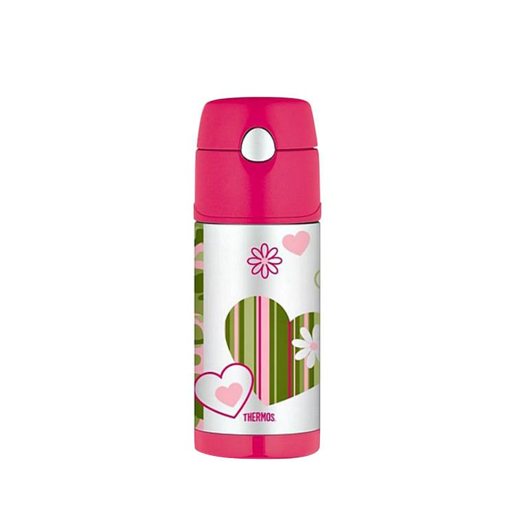Thermos Funtainer Stainless Steel Vacuum Insulated Drink Bottle 355ml Camo Chick