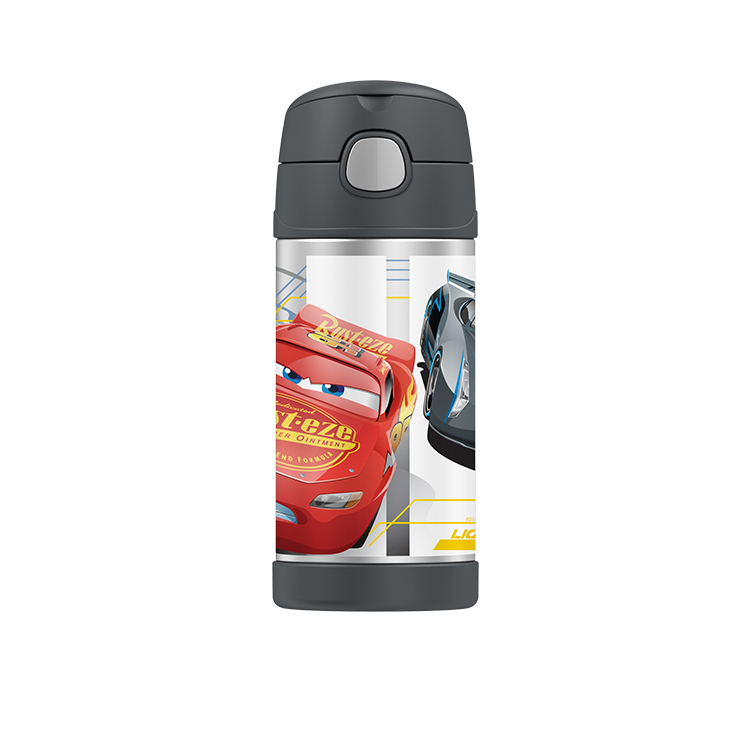 Thermos Funtainer Insulated Drink Bottle 355ml Disney Cars 3