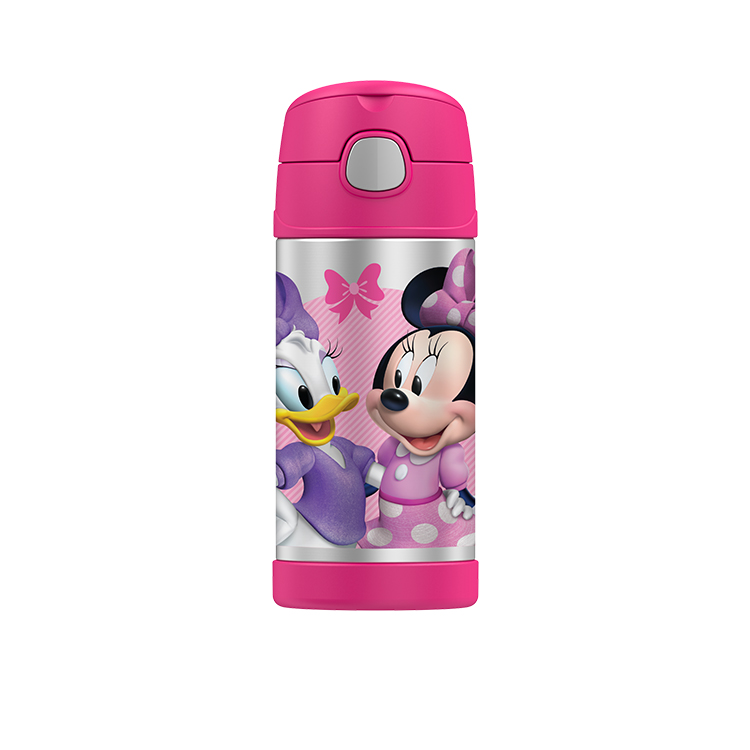 214b3ecfbde Thermos Funtainer Insulated Drink Bottle 355ml Disney Minnie - Fast ...