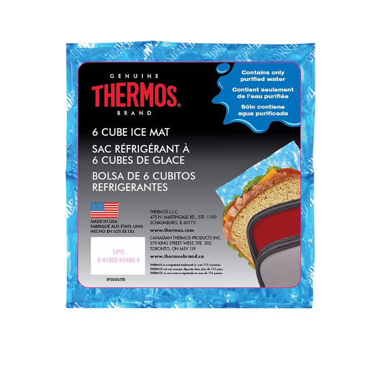 Thermos Reusable Ice Mat 6 Cube