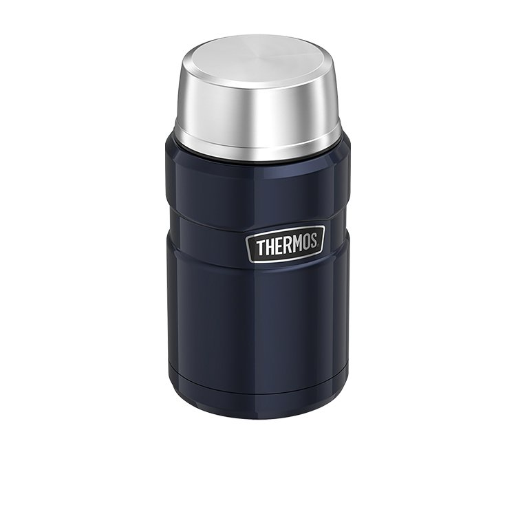 Thermos Stainless King Insulated Food Jar 710ml Midnight Blue