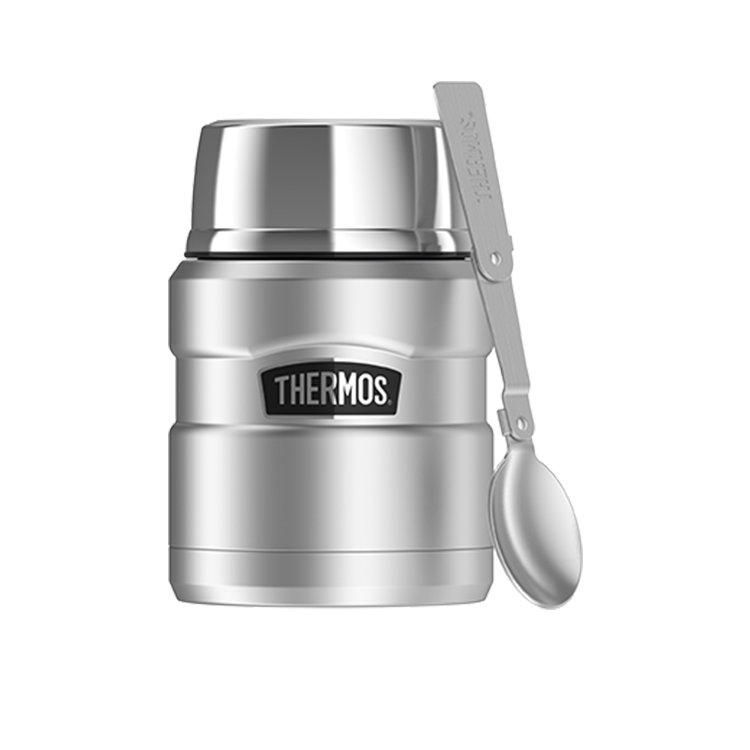 Thermos Stainless King Insulated Food Jar 470ml Stainless Steel