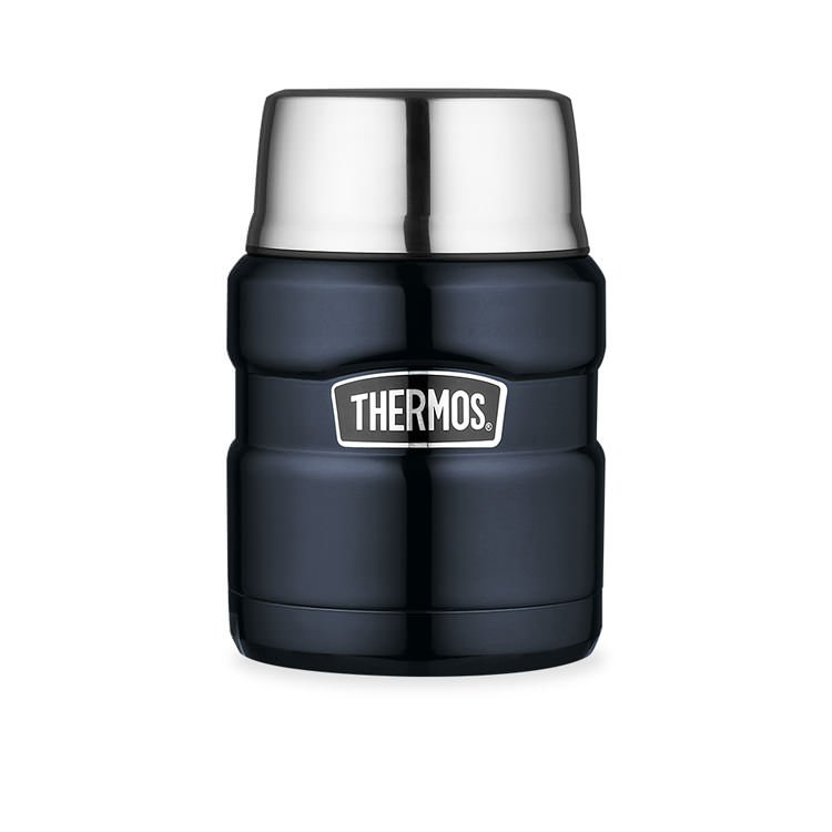 Thermos Stainless King Insulated Food Jar 470ml Midnight Blue