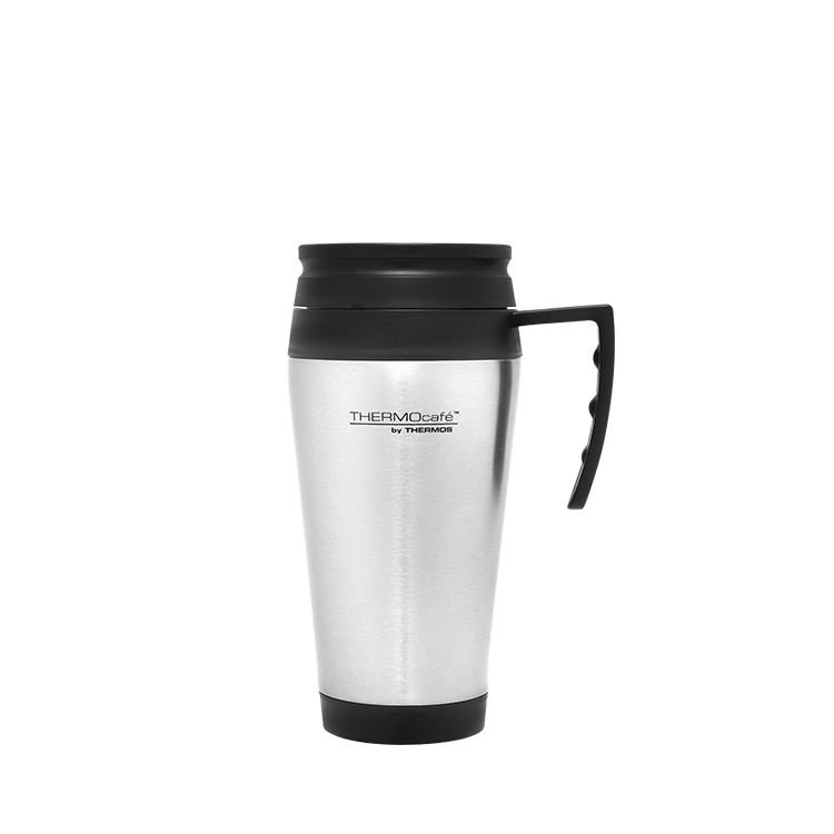 thermos stainless steel travel mug 400ml