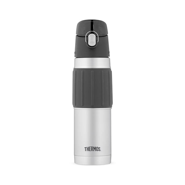 Thermos Stainless Steel Vacuum Insulated Bottle Flip Lid 530ml