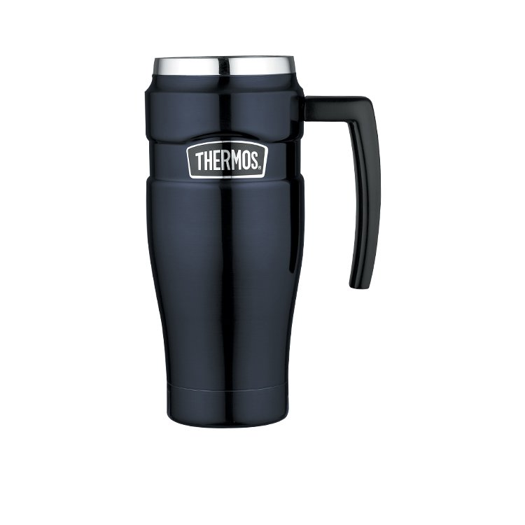 Thermos Stainless King Insulated Travel Mug 470ml Midnight Blue