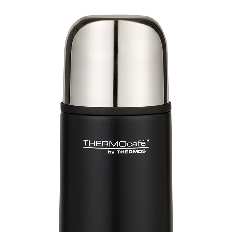 Thermos THERMOcafe Slimline Flask 500ml Matte Black