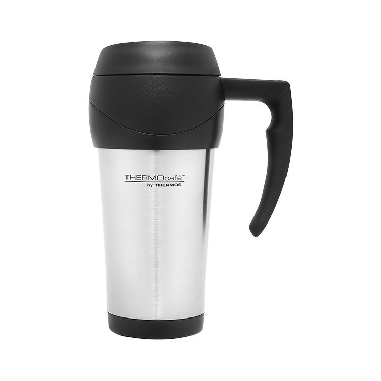 Thermos Thermocafe Stainless Steel Foam Insulated Travel Mug 450ml