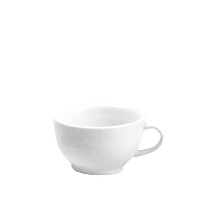 Tomkin Vitroceram Cappucino Cup White 230ml