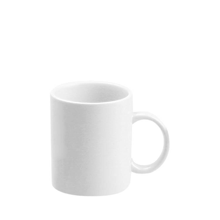 Tomkin Vitroceram Coffee Mug White 350mL