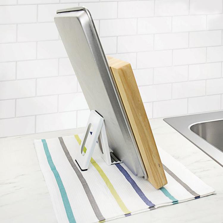 Tovolo Folding Drying Rack White & Grey