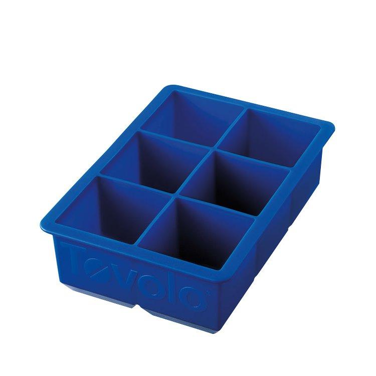 Tovolo King Cube Ice Trays Blue